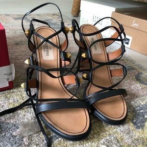 Valentino wrap sandals
